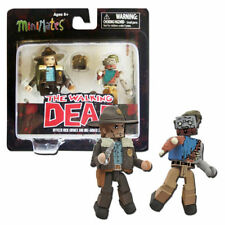 The Walking Dead Minimates 1 - One-Armed Zombie & Officer Rick Grimes 2-Pack NIP