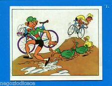 SPRINT '72 - PANINI - Figurina-Sticker n. 76 - VIGNETTA - CICLO CROSS -Rec
