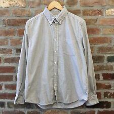 Steven Alan Cotton Flannel Checkered Plaid Button Down Shirt Men's Large L
