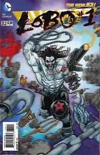 JUSTICE LEAGUE 23.2...NM-...2013...New 52..Lobo 3D Motion Cover....Bargain