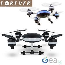 Drone Radiocomandato Forever Quadricottero Luci Led Videocamera HD 2MP 2,4GHZ RC