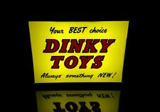 Dinky Toys Shop Display Sign Light Box - BRAND NEW CUSTOM MADE Meccano Diecast