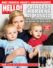 Hello Canada Exclusive Magazine Princess Charlene Apr. 2016 # 496 Brand New
