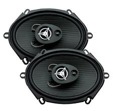 "Power Acoustik EF-573 500 Watts 5"" x 7"" 3-Way Coaxial Car Audio Speakers 5x7"""