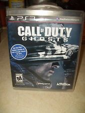 Call of Duty: Ghosts (Sony PlayStation 3, 2013) Includes ps4 version code for 10