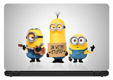15.6 inch Minions-Laptop Vinyl Skin/Decal/Sticker/Cover -Somestuff247-LC010