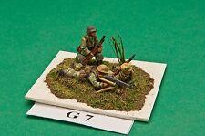 SGTS MESS G07 1/72 Diecast WWII German MG42 on Tripod + 3 Crew