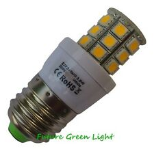 E27 ES 24 SMD LED 240V 3.8W 350LM WARM WHITE BULB ~50W