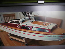 "Veron ""HUNTSMAN"" r/c model boat plans + modèles"