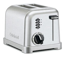 New Cuisinart CPT-160 Classic 2-Slice Metal Toaster