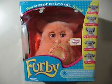 2005 Emototronic Furby doll, VERY RARE Orange w/pink eyes , NEW, needs batteries