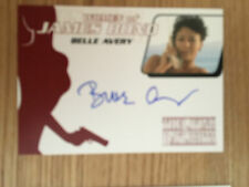 James Bond Archives 2014 Autograph Card Belle Avery WA39
