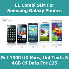 EE 4G Pay As You Go SIM A Standard, micro & Nano In One SIM Card For All Phones