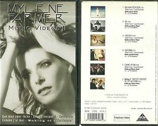 K7 VIDEO / VHS - MYLENE FARMER : BEST OF MUSIC VIDEO II /TAPE
