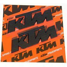 KTM 3D Sticker Aufkleber schwarz KTM Duke 200, Duke 390, Duke 690, Duke 690 R