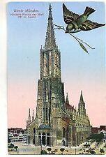D 257 - Ulm, Münster, Feldpost 1918
