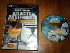 STAR WARS...galactic battlegrounds...clone campaigns...sur PC