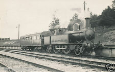 Original photograph postcard Military engine steam locomotive Earl Roberts (A3)
