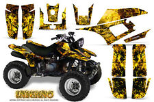YAMAHA WARRIOR 350 GRAPHICS KIT CREATORX DECALS STICKERS INFERNO Y