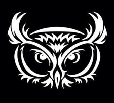 Owl Tribal Vinyl Graphic Decal Car Window Sticker Funny Diesel Mac Truck