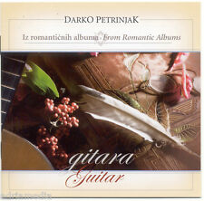 Darko petrinjak CD Gitara Guitar 2007 iz romanticnih AlbumA From Romantic album