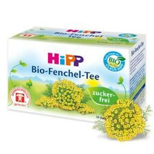HiPP Baby Organic Fennel Tea 20 x TEABAGS Digestive tea to soothe colic!
