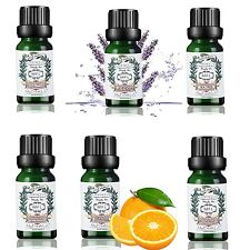 Essential Oil Set 6 Pack 100% Pure Natural Therapeutic Grade Oils Lot 10 ml #BQ/