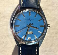Ulysse Nardin Men's Watch Blue Face with Date Stainless Steel Case GR815