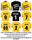 STAG DO T-SHIRT, MEN, HEN, PERSONALISED, YOUR TEXT HERE, FUNNY, YOUR NAME, PARTY