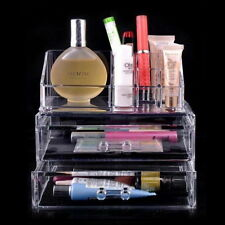 Organizer Clear Acrylic Drawer Grids Transparent Makeup Display Box For Storage