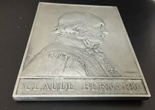 1913 French Medal in Honor of Claude Bernard, Engraved by A. Borrell / M76