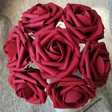 "100PCS Fake Flowers Artificial Roses 3"" For Bouquet Wedding Table Centerpieces"