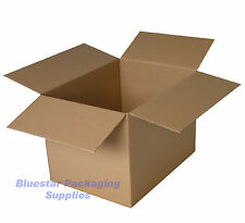 50 Cardboard Boxes Single Wall Kraft 18 x 12 x 12