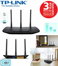 TP-LINK TL-WR940N 450Mbps Wireless N Cable Router Access Point 4-Port UK NEW