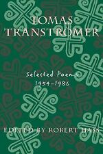 Tomas Transtromer: Selected Poems, 1954-1986