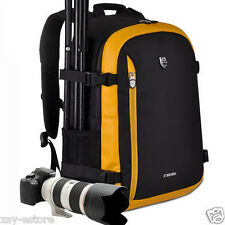 Waterproof Deluxe DSLR SLR Camera Backpack Bag Case for Canon Nikon Sony Pentax