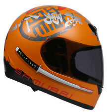 Thh Full Face Helmet TS -15 Orange Samurai