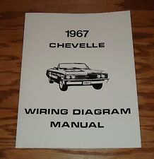 1967 Chevrolet Chevelle Wiring Diagram Manual 67 Chevy