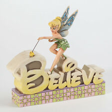 Disney Traditions Jim Shore Believe Plaque Tink Tinker Bell Peter Pan 4027138