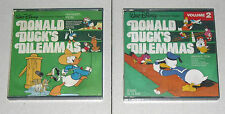 Super 8 S8 DONALD DUCK'S DILEMMAS Vol 1 e 2 Walt Disney Cinecasa OTTIMO SPECIAL
