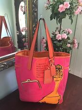 Coach Tote Handbag in Pink/Orange #13379 B2
