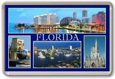 FRIDGE MAGNET - FLORIDA - Large - USA TOURIST
