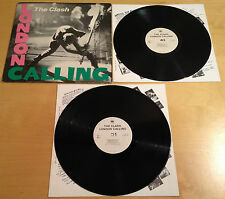 THE CLASH - LONDON CALLING X2 LP VINYL S CBS CLASH 3 VG+ / VG+ 1ST PRESS