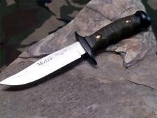 "Muela Premium Bowie Fixed Blade Knife OD Green 7 5/8"" Spain Hunter 7102"