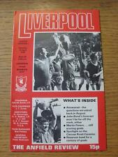22/04/1978 Liverpool v Norwich City  (Score Noted)