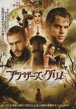 The Brothers Grimm - Original Japanese Chirashi Mini Poster - Heath Ledger