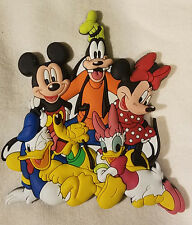 Disney Parks Mickey Mouse & Friends Goofy Donald ++ Fridge Magnet PVC - NEW