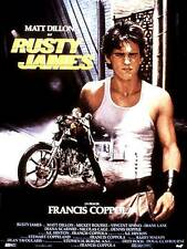 RUSTY JAMES Rumble Fish Affiche Cinéma / Movie Poster 160x120 COPPOLA