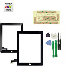 Replacement Touch Screen Glass Digitizer for  iPad 2 2G Black