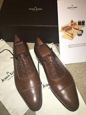 NEW JOHN LOBB ST CRÉPIN 2014 LIMITED EDITION DRESS SHOES TREES BRUN LOBB 10E 11